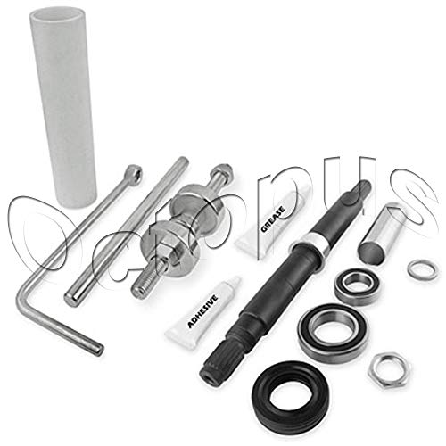 (Bearing and seal Kit With Tool Fits Whirlpool W10435302 and W10447783)