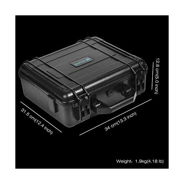 LEKUFEE Custodia da Trasporto per DJI Mavic Air 2 Drone e Accessori (Drone e Accessori Non Inclusi) 4 spesavip