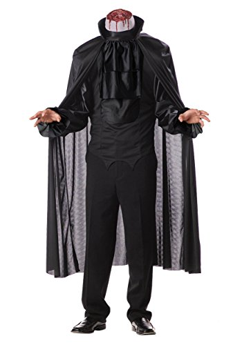 California Costumes Men's Headless Horseman Costume,Black,X-Large