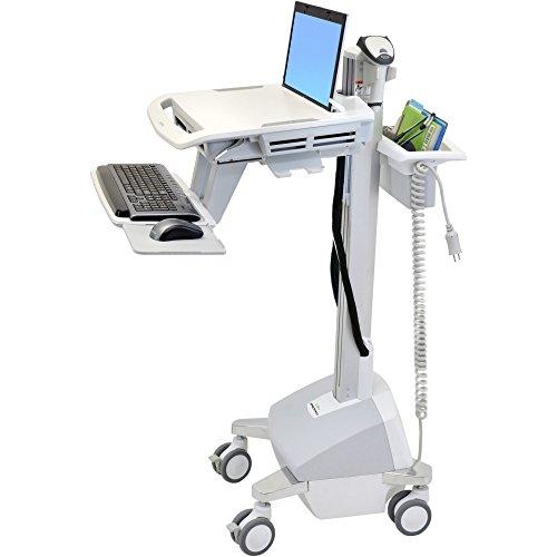 Ergotron SV42-6102-1 StyleView Laptop Cart, LiFe Powered - Ergotron Styleview Laptop