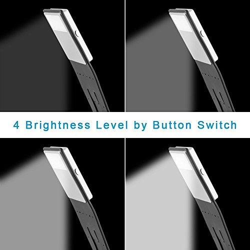 lovely Night Book Light – J-DEAL Portable Clip Reading Light