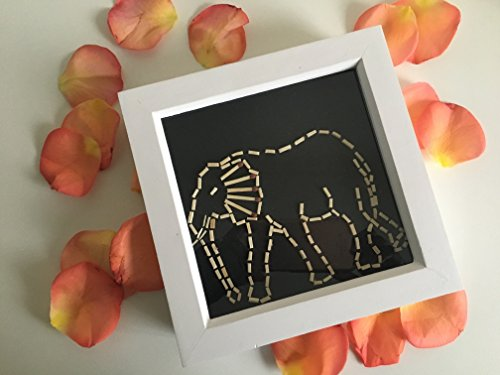 Handmade African Elephant Art by ShukuDesigns