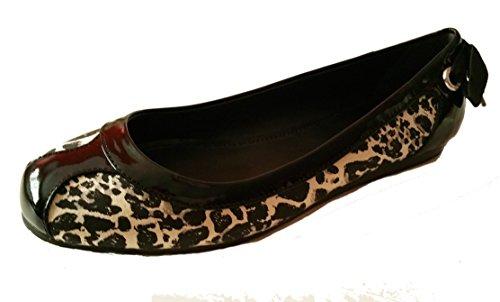 Entrenador Reagan Legacy Cheetah Ocelot Ballerina Sandalia Plana Zapato 8