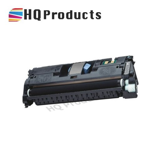HQ Products Compatible Replacement for HP 122A (Q3960A) Black Toner Cartridge for use in HP Color Laserjet 2550, 2550L, 2550LN, 2550N, 2800, 2820, 2840 Series Printers.