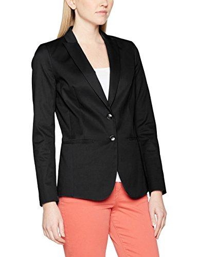 Jacket black Blouson Femme Fit Benetton Noir Suit Classic Slim United Colors Of Uw08SqgSP