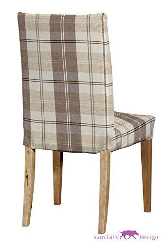 Saustark Design saustark design dundee cover for ikea henriksdal chair checked
