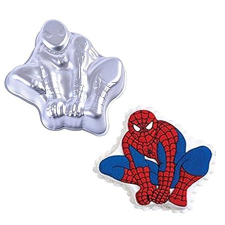 Spiderman para tartas bandeja para hornear molde: Amazon.es ...