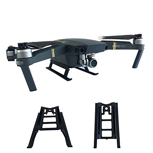 2019 Grreat Gift !!! Cathy Clara Heightened Landing Gear Foldable Extended Protector for DJI Mavic Pro Platinum