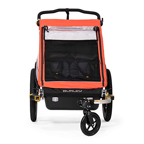 Burley Cub X, 2 Seat Kids Bike Trailer & Stroller