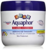 Aquaphor Baby Healing Ointment Diaper Rash and Dry Skin Protectant, Economy Pack 14 Oz Each -2 Count