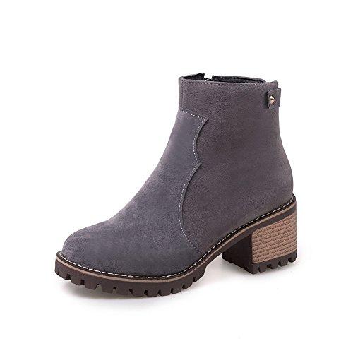 BalaMasa Abl10531, Sandales Compensées femme - Gris - gris,