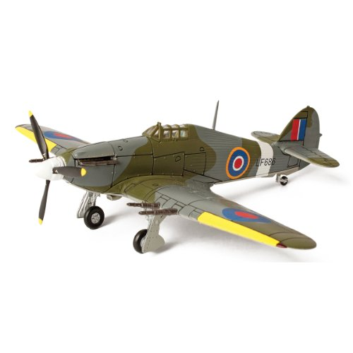 Forces of Valor Smithsonian Series U.K. Hurricane RAF Serial Number LF686 Aircraft (Forces Of Valor Toys)