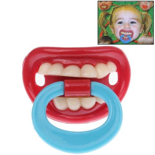 Lustiger Baby Kleinkinder Schnuller * Zähne* 100% silicon von 6-36 Monate