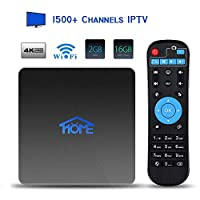2GB RAM 16GB ROM IPTV Receiver 2018 New 4K IPTV Subscription Box Over 1500 Live Channels Including Asian/USA/CA/Europe/JP/Arabic/Brazil/India Programs
