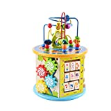 Baby Toys, Children Round Beads Treasure Chest Puzzle Beaded Blocks Boys and Girls Baby Intelligence Toys 1-2 One Year Old