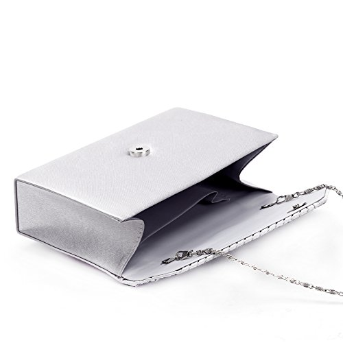 Anladia pour Anladia Pochette femme Pochette femme pour silver silver Anladia Pochette pour C5wnAZq