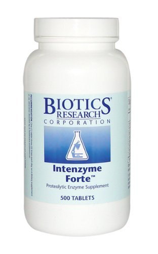 Biotics Research - Intenzyme Forte 500 Tabs (1000) by Biotics Research