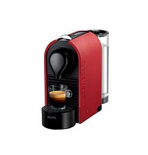 Krups Nespresso YY1302FD - Cafetera de cápsulas, color rojo ...
