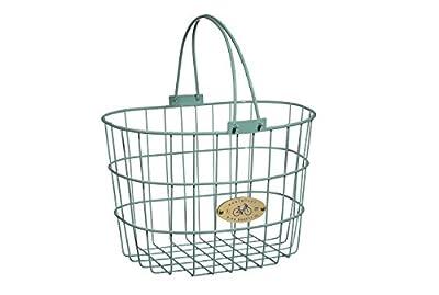 Nantucket Bike Basket Co. Surfside Adult Wire D Shape Basket