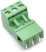 Willwin 5.08mm Pitch Angle Right 20Set 2pin PCB Conectores de bloque de terminales conectables