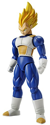 Bandai Hobby Figure-Rise Standard Super Saiyan Vegeta Dragon Ball Z Model Kit - Dragon Figure Model Kit