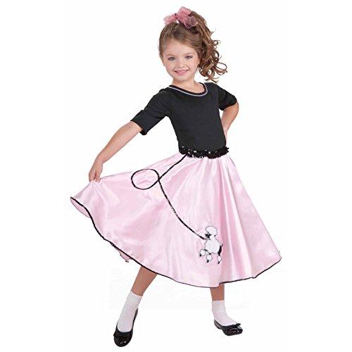 (Forum Novelties Pretty Poodle Princess Costume, Child's Large)