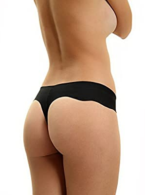 Womens Thongs by Drama Queen - No Panty Lines - Remarkably Comfy- Gorgeous Design!