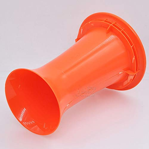 Gimax 10pcs/lot Speaker guide tube sound tube audio DIY accessories hole 99MM orange - (Color: 10pcs a pack) by GIMAX (Image #2)