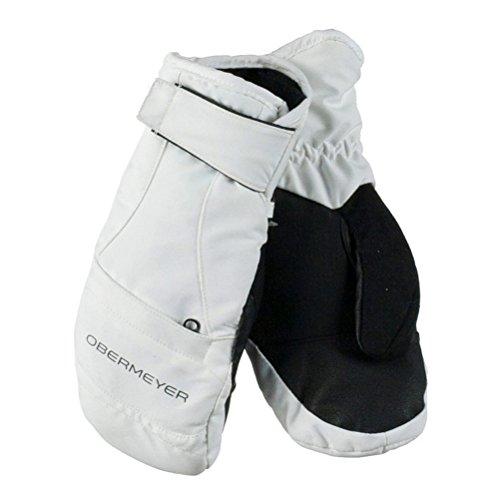 Obermeyer Kids Unisex Radiator Mitten (Big Kids) White Gloves by Obermeyer Kids