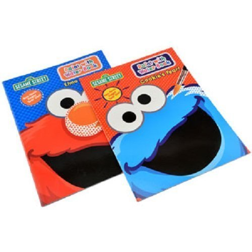 (Sesame Street® Paint with Water Set of 2 Books.