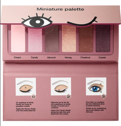 Sephora Collection Miniature Palette - Donut Shades...