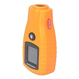 ZREALBANG Non-contact Infrared IR Digital Thermometer,LCD Display Laser Pointer Measurement Thermometer - -26 °F to 536°F (-32°C to 280 °C) (RZ270)
