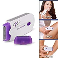 FreshDcart Rechargable Finishing Touch Flawless Painless Hair Remover with women's Legs Epilator Machine and Yes Cutting Facial/Heads Trimmer for Women Girls