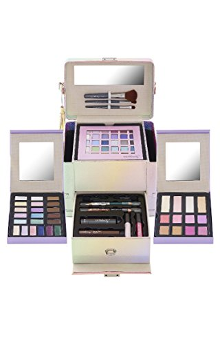 Ulta Beauty 69 Piece Makeup Collection Set Kit Illuminate The Day Holographic Case  195 Value