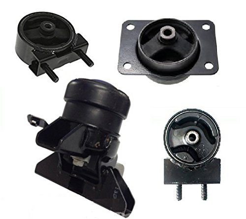 Suzuki SX4 10-13 Engine Motor Mount Kit 4pcs