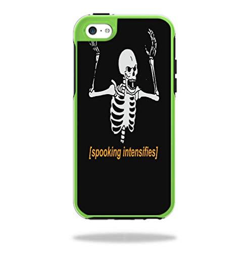 Spooking Intensifies Skeleton Symmetry iPhone 5C Case Vinyl Decal Sticker Skin]()