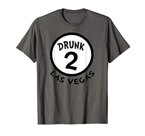 Drunk 2 Las Vegas Funny Group Shirt Novelty Souvenir