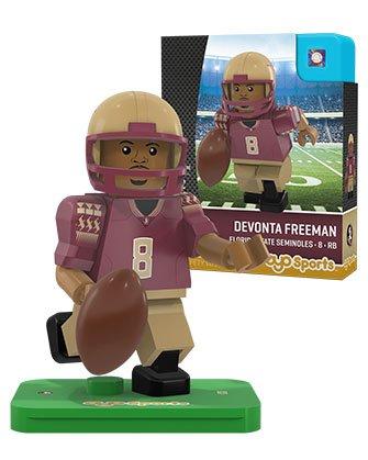 Ncaa Florida State Seminoles Devonta Freeman Generation 2 G2 Minifigure  Small  Black