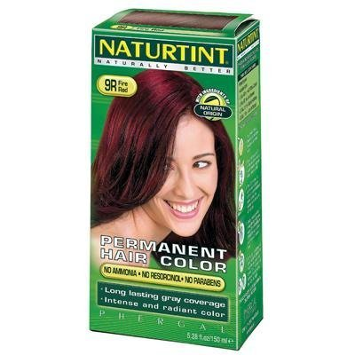 - Naturtint 9R Permanent Fire Red Haircolor Kit, 4.5 Ounce -- 3 per case. by Naturtint