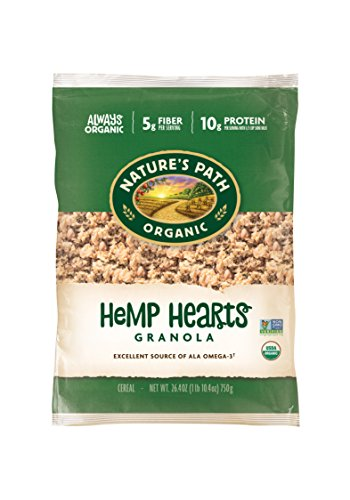 (Nature's Path Organic Granola Cereal, Hemp Plus, Eco Pac, 25 Pound Bag)