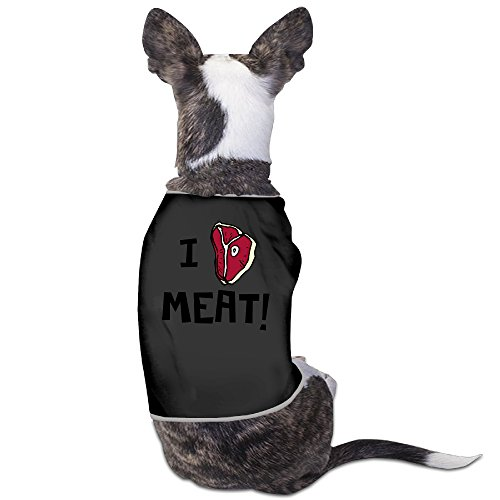[I Heart Meat Dog-coats Dog Costumes Dog Shirt For Puppies] (Monster High Wisp Costume)