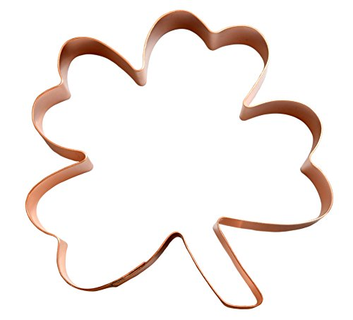 Four Leaf Clover Cookie Cutter (Cookie Copper Leaf Cutter)