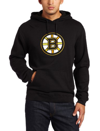 - NHL Men's Boston Bruins Playbook Hood (Black, XX-Large)