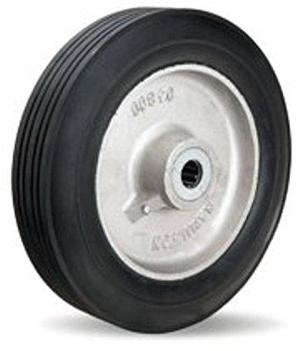 12'' x 2-3/4'' Super-Flex Rubbe rWheel, 800 lb Capacity, 3-1/4'' Hub