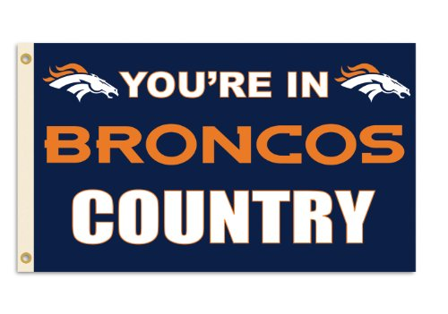 Fremont Die NFL Denver Broncos 3-by-5 Foot In