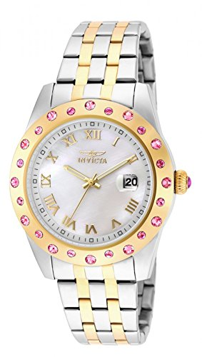 Invicta Angel Silver Dial Two-tone Ladies Watch 18984
