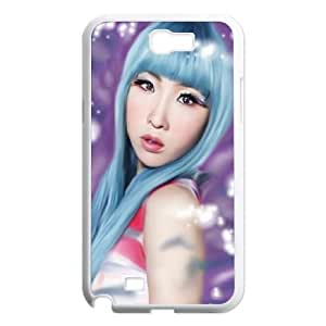 Samsung Galaxy N2 7100 Cell Phone Case White Minzy Ne Hard Phone Case XPDSUNTR04071