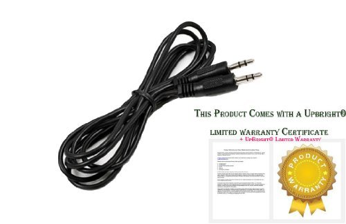 UpBright UX Audio In Cable Cord For Altec FX4021 FX6021 ADA745 ADA880 BX1120 VS1520 VS2620 VS2621 VS4121 VS4621 VS4621E Lansing inMotion Portable iPod Speaker System, Octiv Stage MP450 Speaker Dock (Vs2620 Speaker System)