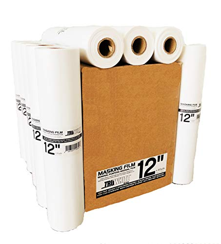 Reli. TruWhite Premium Masking Paper Alternative - 12 Rolls (12in x 180ft) - Superior Surface Protection, Construction and Home Improvement ()