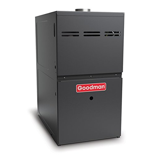 Goodman GDH80804BN Gas Furnace, Two-Stage Burner/Multi-Speed Blower, Downflow 80% AFUE - 80,000 BTU